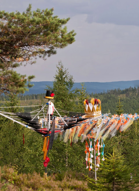 Kultur i Tiomilaskogen, Rihimäki juli 2013