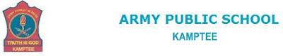 Army Public School, Kamptee Recruitment 2015 apskamptee.com