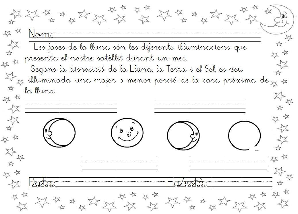 Fases De La Luna Para Colorear 65764 | INTERIORDESIGN