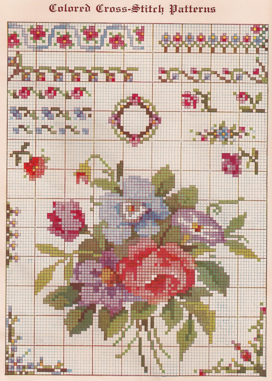 Stupendous image in printable cross stitch patterns