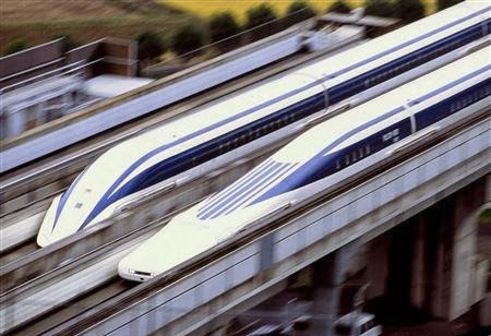 Idio Syncra Tic Japan Maglev Linear Bullet Train To The