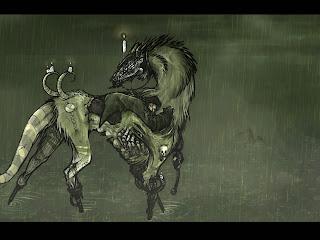 Gothic Horse Dark Gothic Wallpaper
