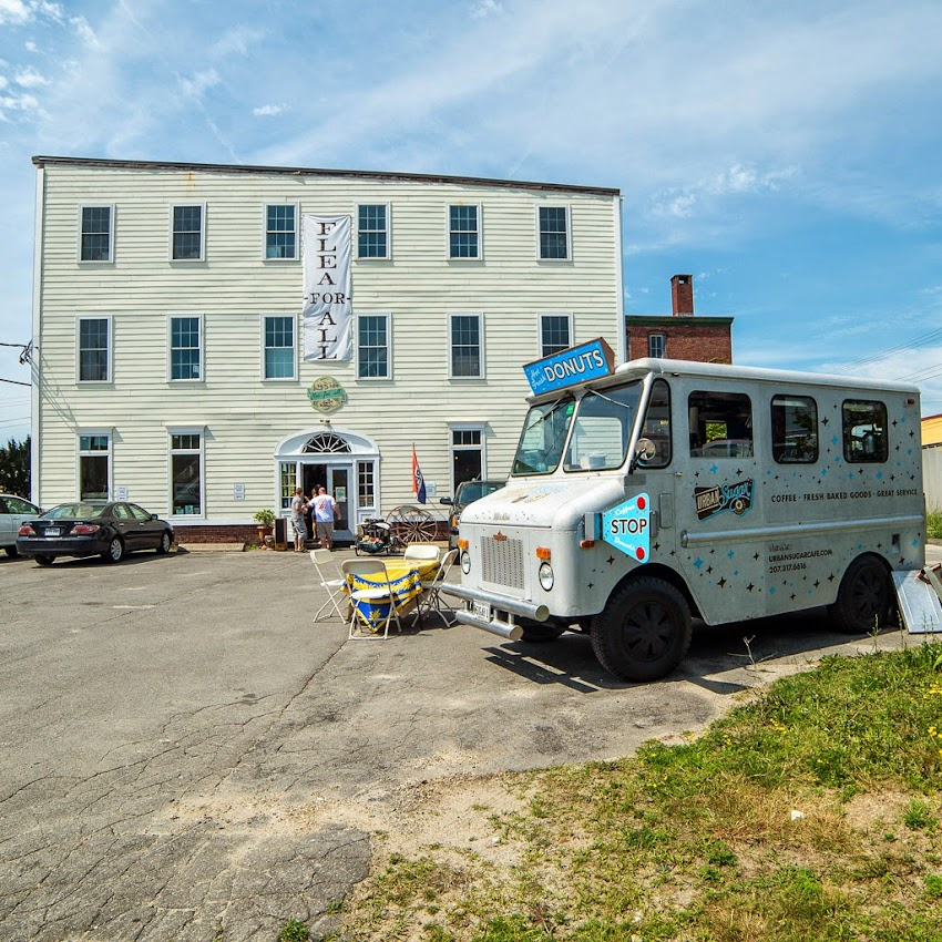 Portland, Maine Summer June 2014 Flea for All Urban Sugar Mobile Cafe Food Truck photo by Corey Templeton