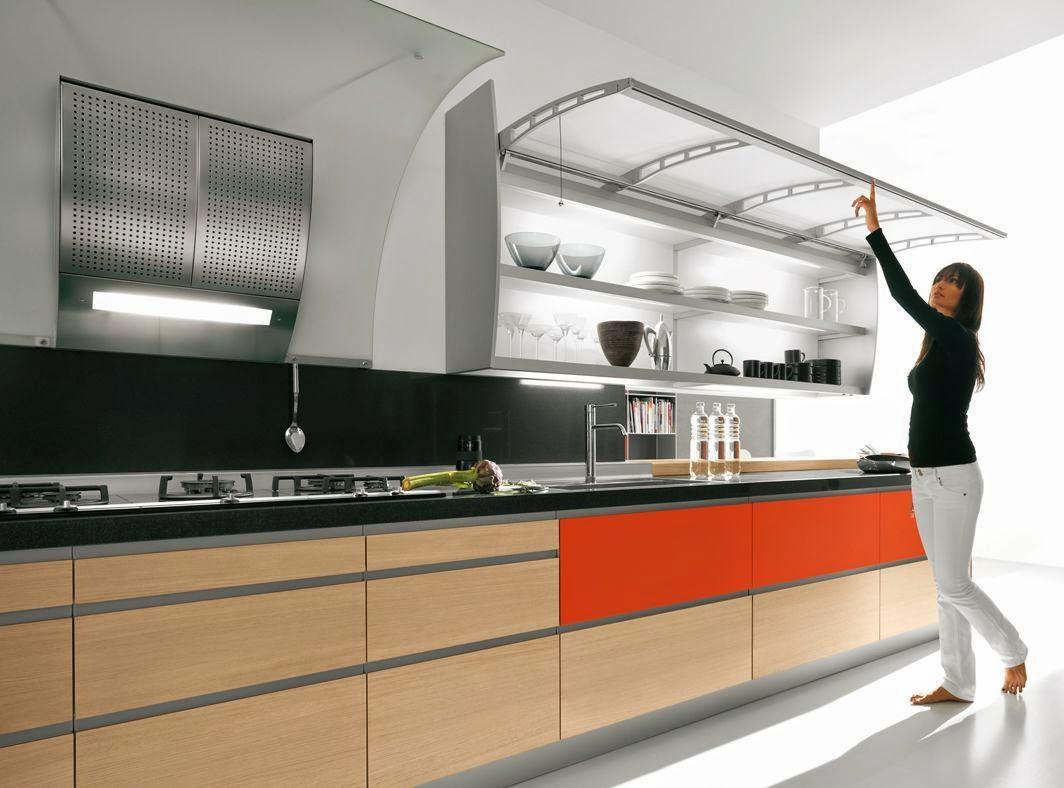 Sistemas de apertura para muebles altos por cu l for Con que limpiar los armarios de la cocina