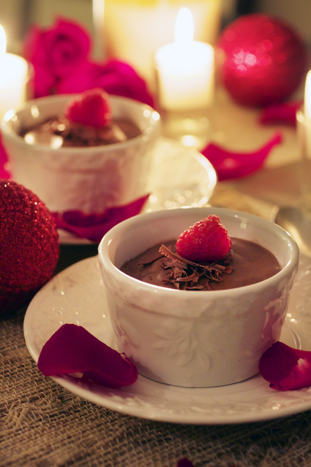 Chocolate And Raspberry Pot De Cr Me Primal Palate