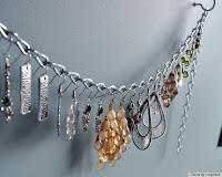 Chain Earring Holder