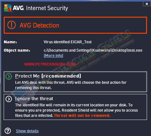 How to test your antivirus with EICAR test