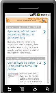 Aplicacion Tubuntux Ubuntu Android
