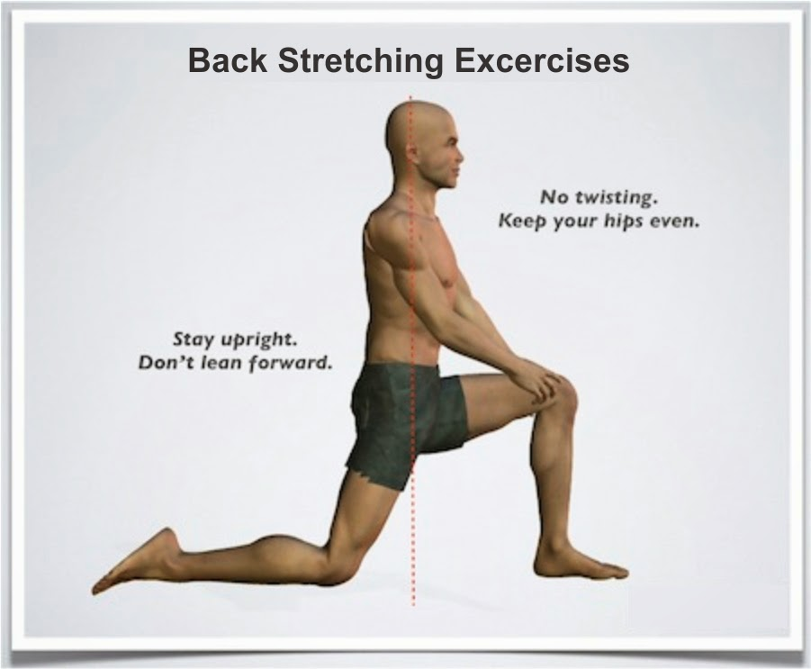 Back stretching exercises