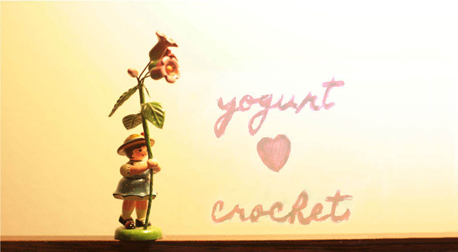 yogurt ♥ crochet.