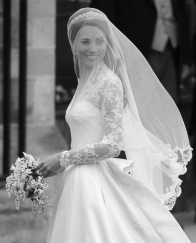 2011 Costume Wedding Dress Princess Kate Middleton