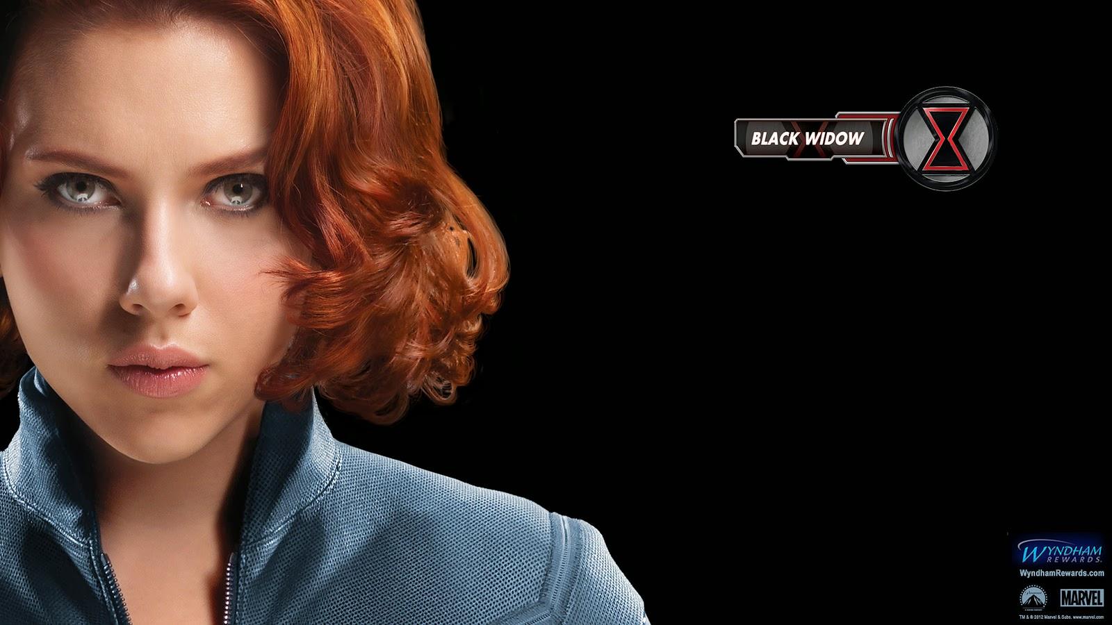 האלמנה השחורה של מארוול בנוקמים - סקרלט ג'והנסון