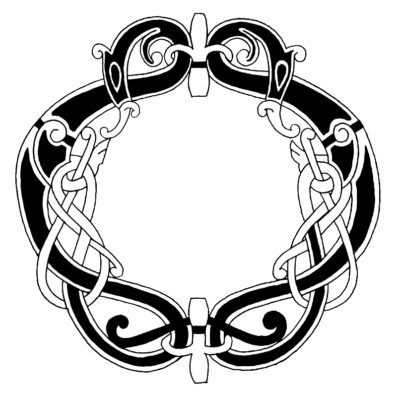 Celtic Coloring Page
