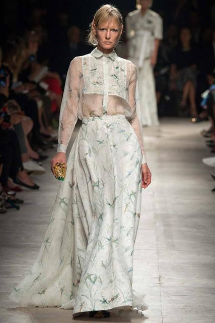Falda larga Rochas, SS 2015