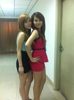 Lin Sweet Facebook Sweet Girl Sexy Tights 2