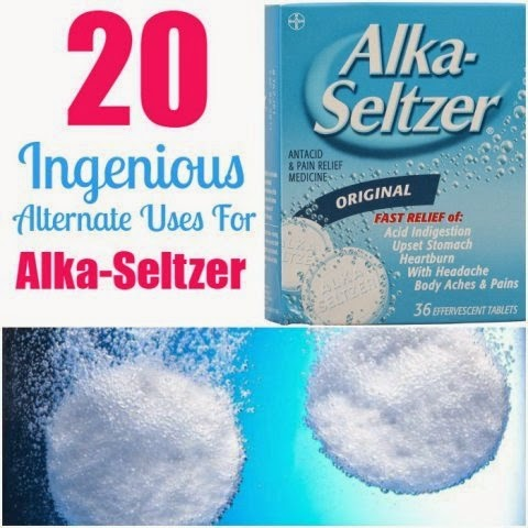 20 Ingenious Alternate Uses for Alka-Seltzer