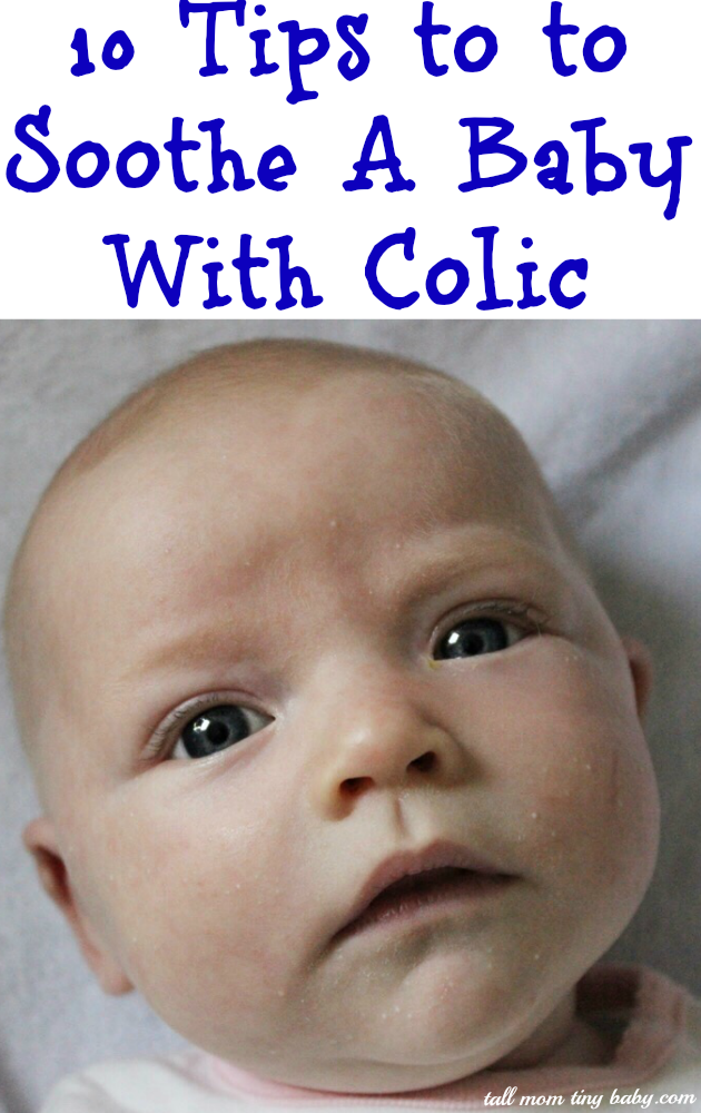 How to Soothe a Baby With Colic