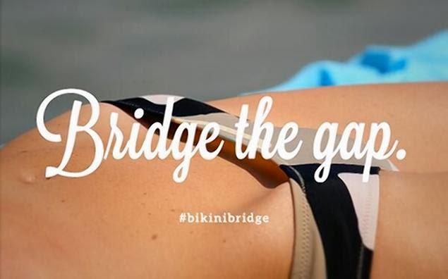 bikini bridge hashtag