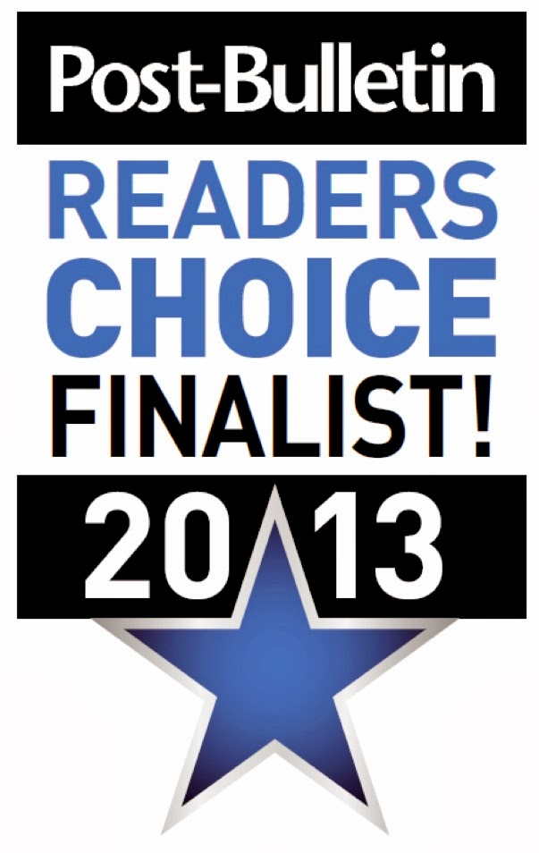 2013 Reader's Choice Award!