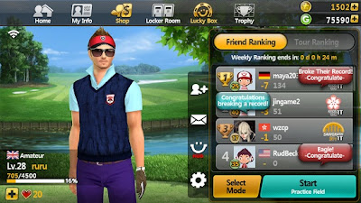Golf Star v1.3.1 APK + DATA Android zip market Google Play