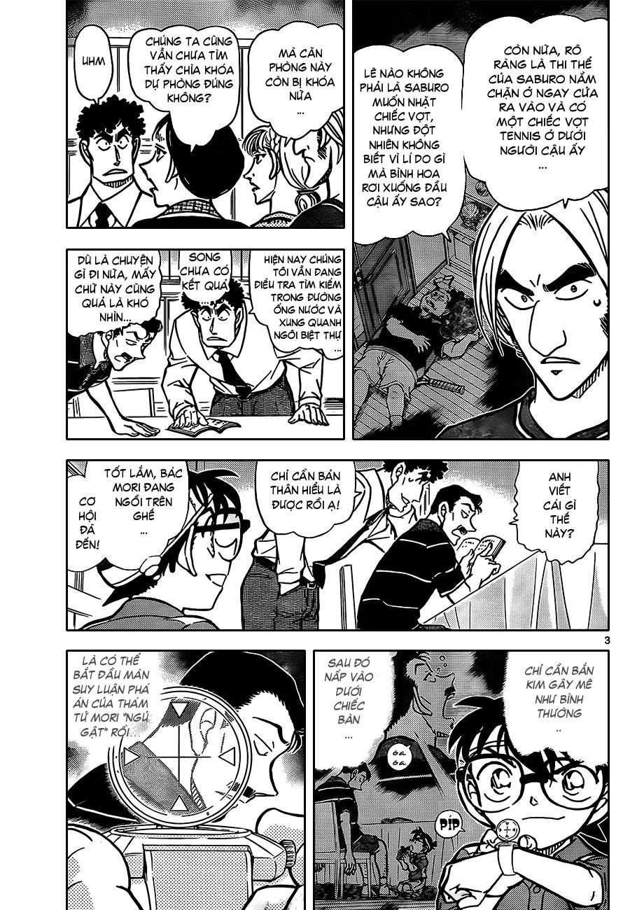 Thám Tử Lừng Danh Conan - Chapter 827 - Pic 4
