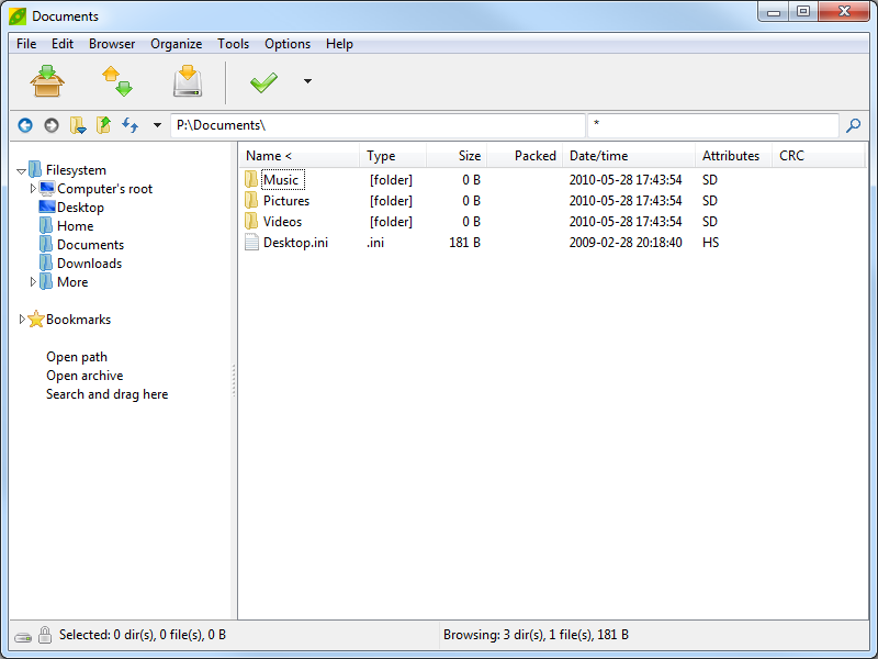 PeaZip 5.5.3 screenshot