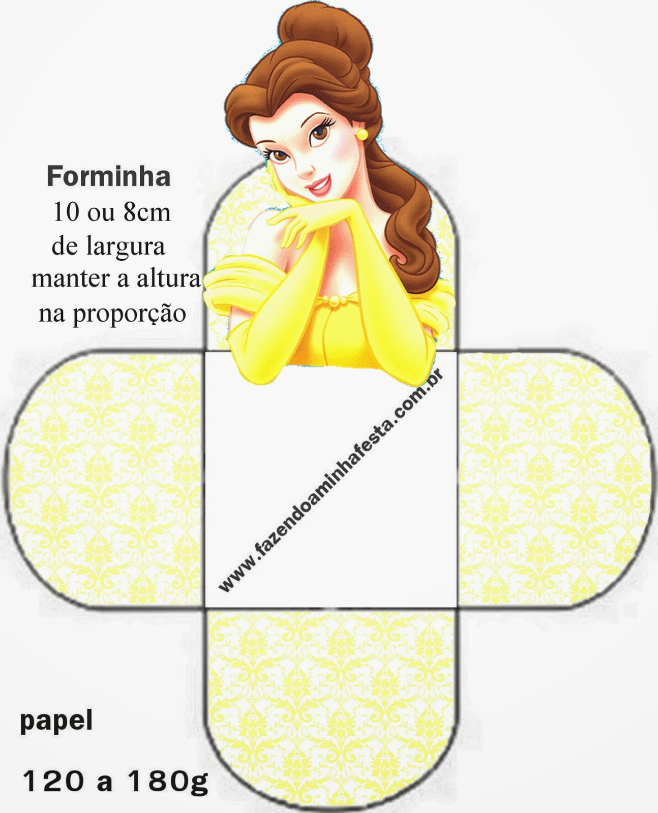 Free Printable Open Boxes For Disney Princess Party Oh