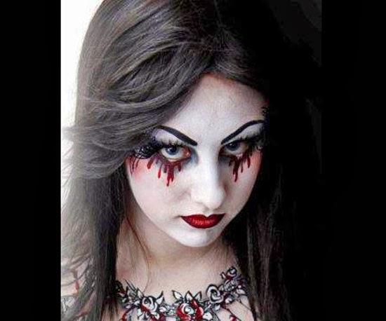 Devil Face Paint Ideas