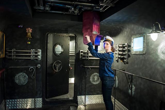 фото квест Клаустрофобия Подводная лодка блогер Ninelly