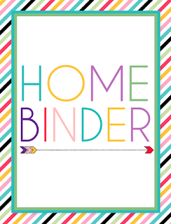 I should be mopping the floor how to create a home binder for Construction organizer notebook