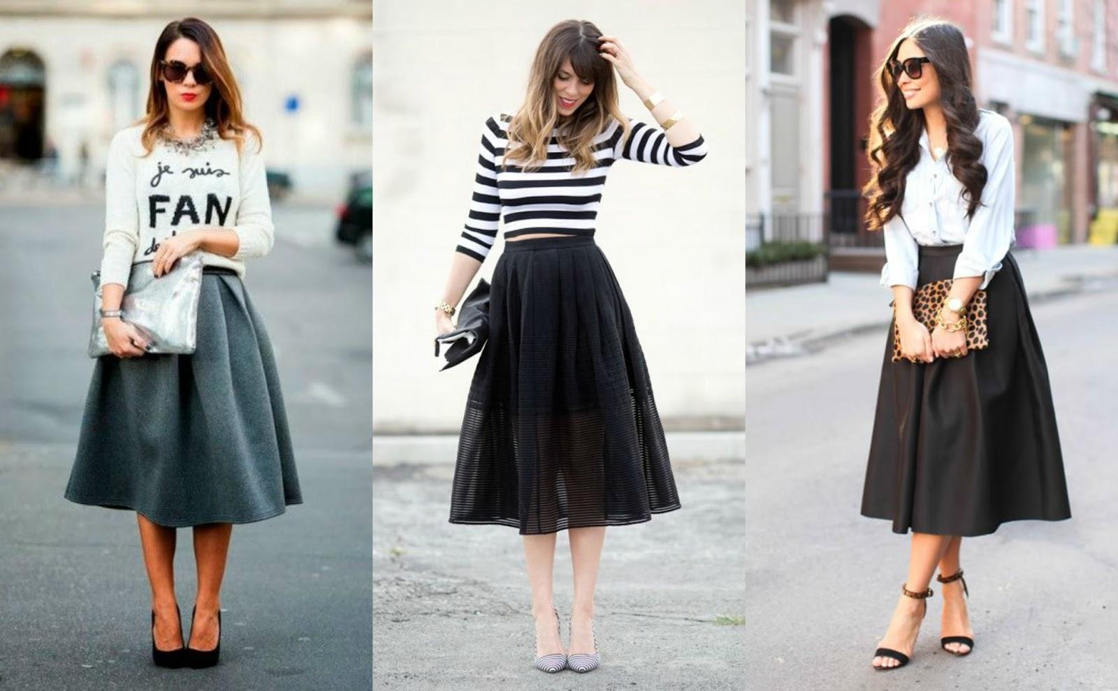 Midi Skirts Country Girl City Life