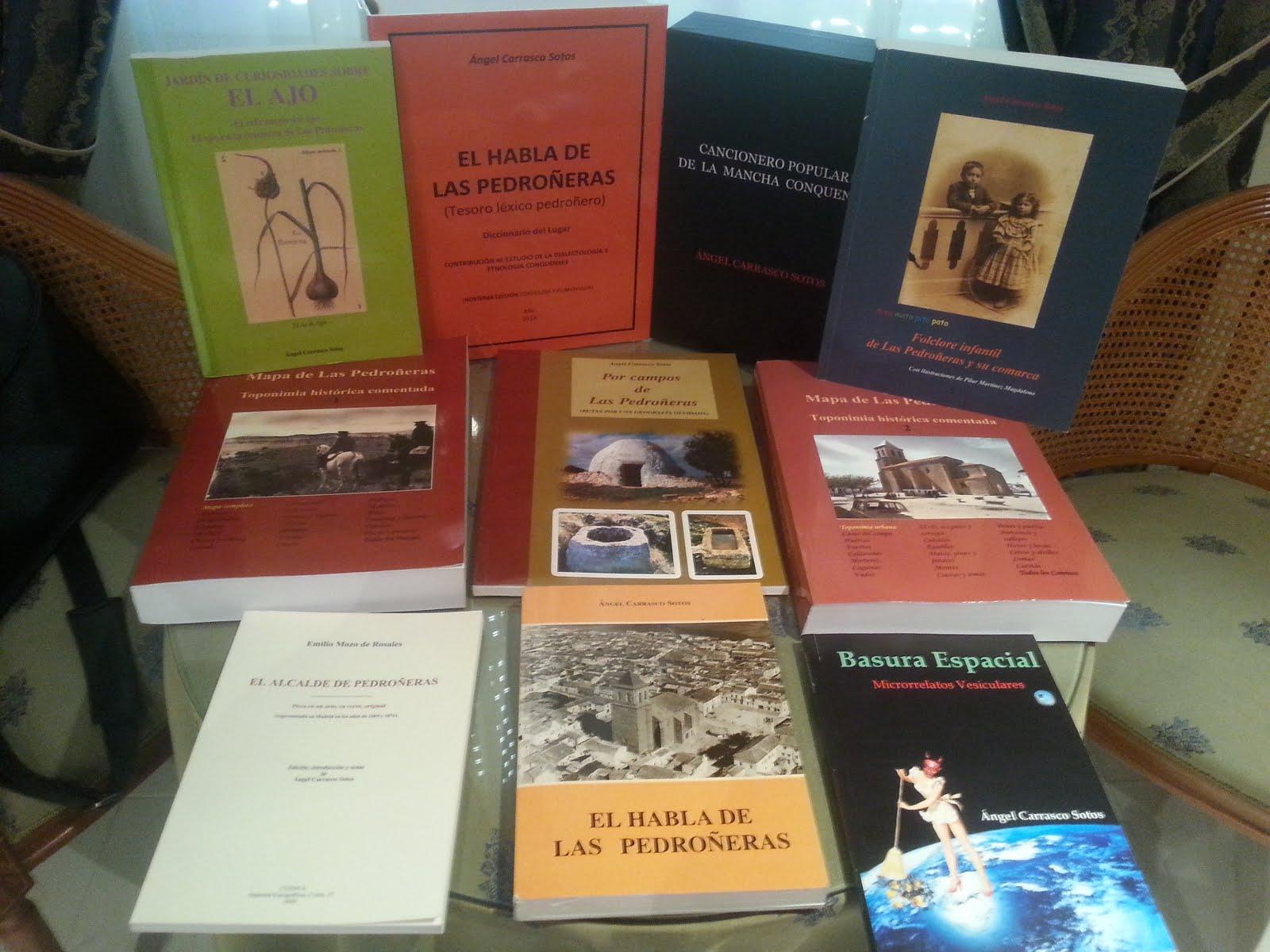 Todos los libros sobre Pedroñeras