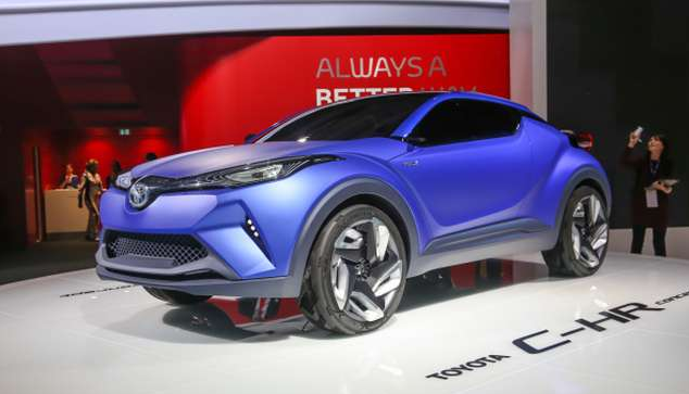 2016 Toyota C-HR Concept Price Specs Review Release Date