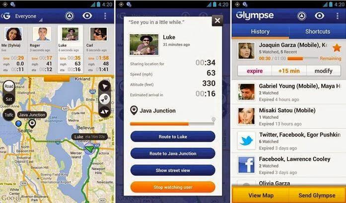 Aplikasi Pencari Lokasi Orang Untuk Android