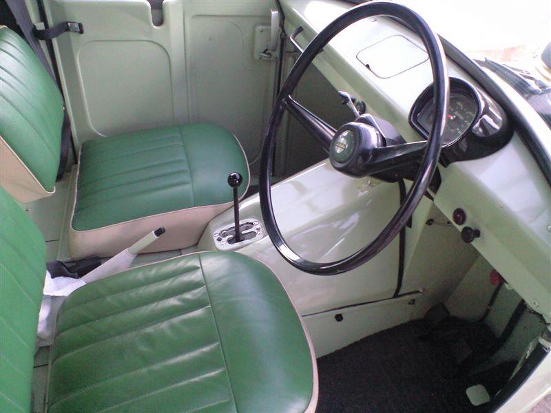 Daihatsu Midget 日本車 ダイハツ japoński trójkołowy samochód mała ciężarówka