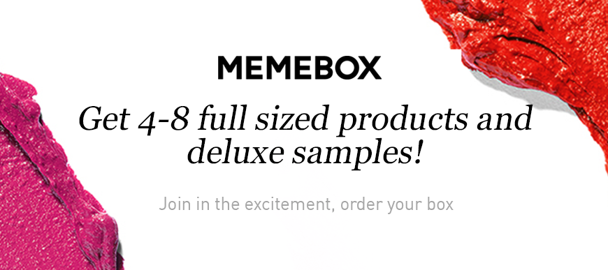 Memebox, Korean Beauty, Memebox Discount Codes
