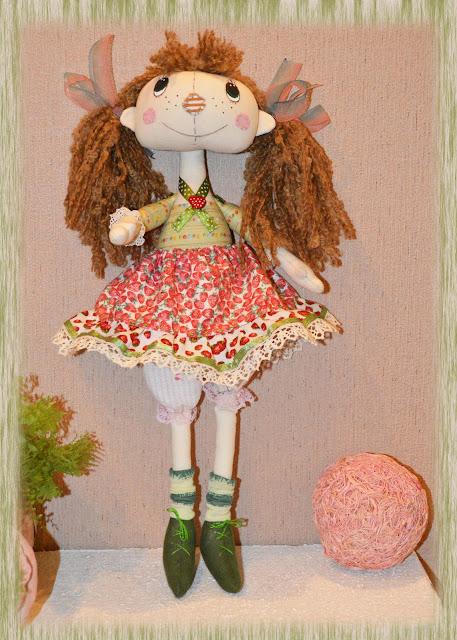 шьем тряпичную куклу