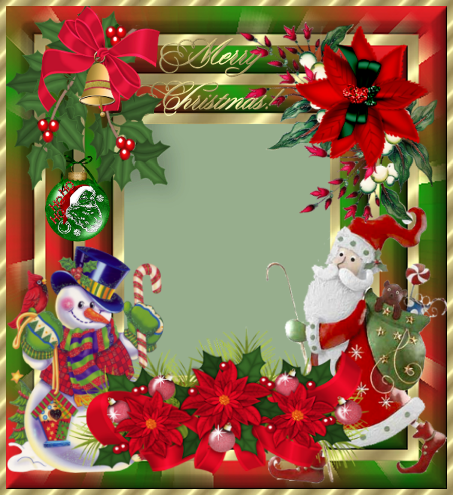 FRAMES GALLERY: Christmas Photo Frames 6