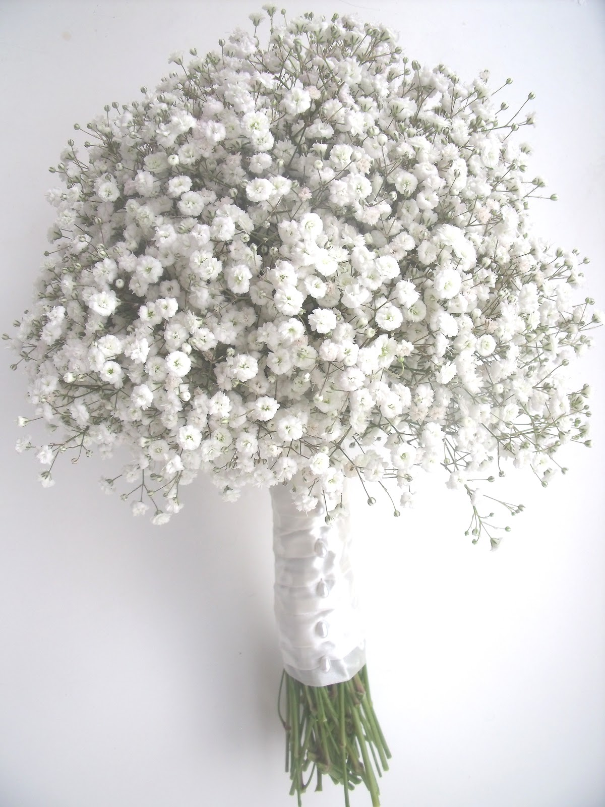 vidabela Gypsophila wedding bouquets