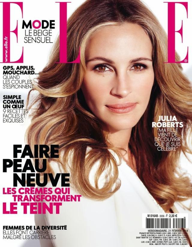 Julia Roberts Elle Magazine