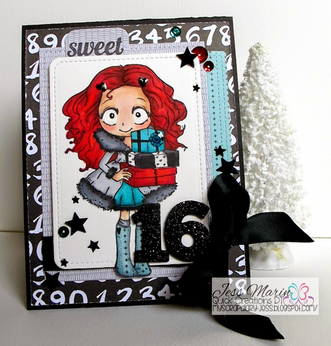 My Scrap Diary Quick Creations Holiday Hop