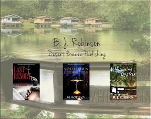 B. J. Robinson Desert Breeze Author
