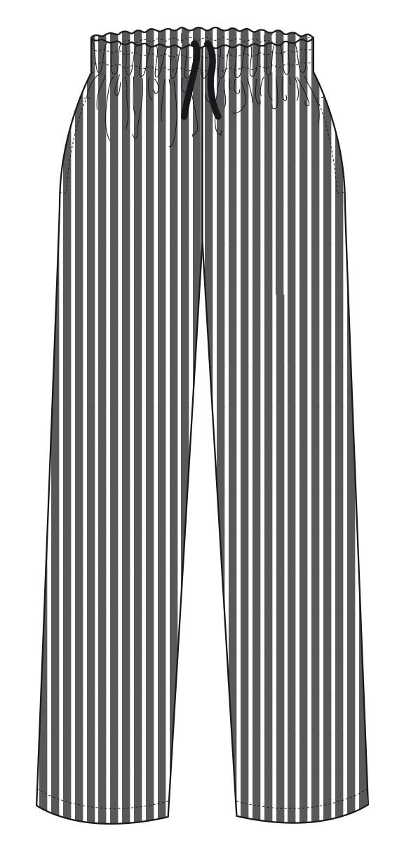 Ampliar Imagen : Pantalón a rayas B/N - Cocina - Gourmet - MARCA