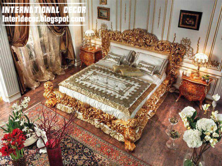 Luxury italy beds ancient italian beds furniture for International decor bed