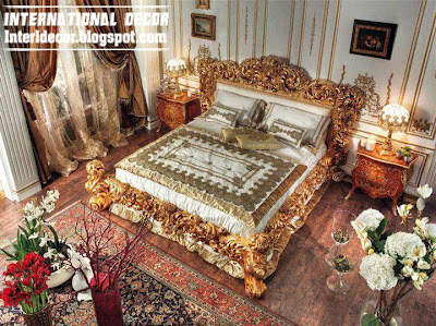 Italy luxury bed classic bed Luxury Italy beds   ancient Italian beds furniture