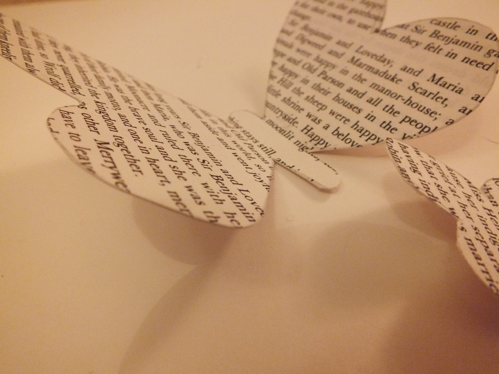 book page decorations