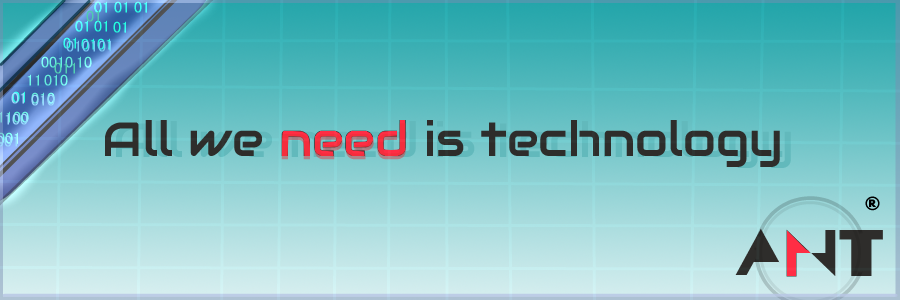 All we need is technology