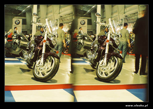 Moto Expo Warsaw in 3D