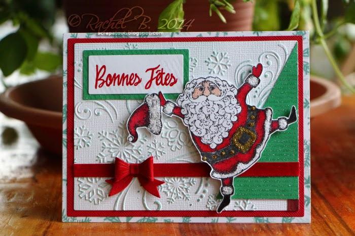 Holiday Card impression Obsession Santa