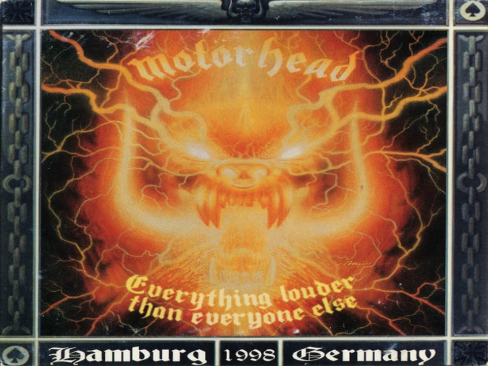 Everything Louder than Everyone Else Álbum de Motörhead